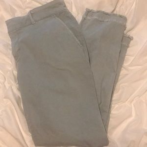 Loft ankle length chinos